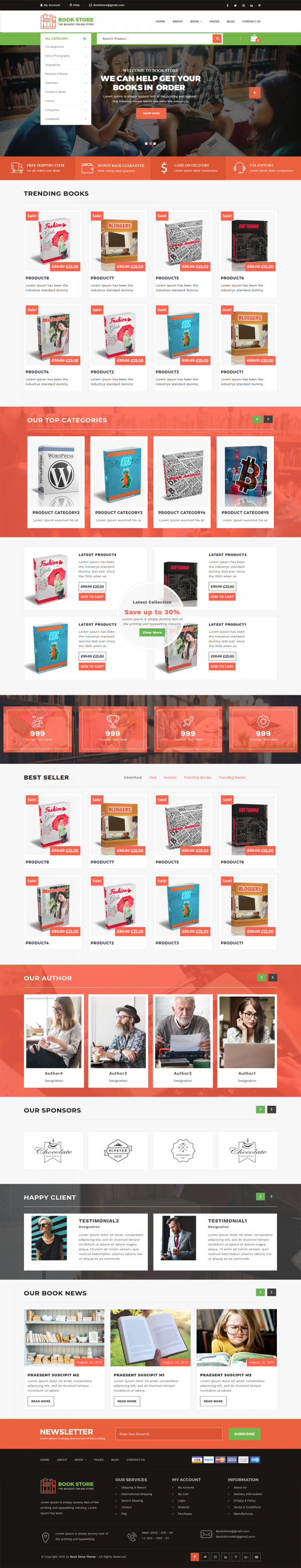 Bookstore-WordPress-Theme