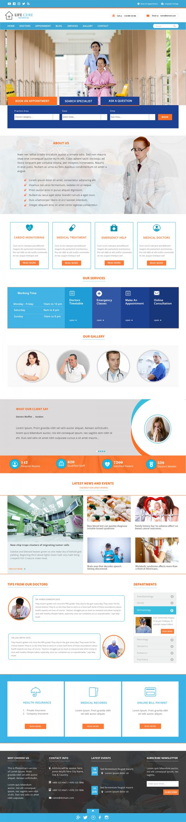 Hospital-WordPress-Theme