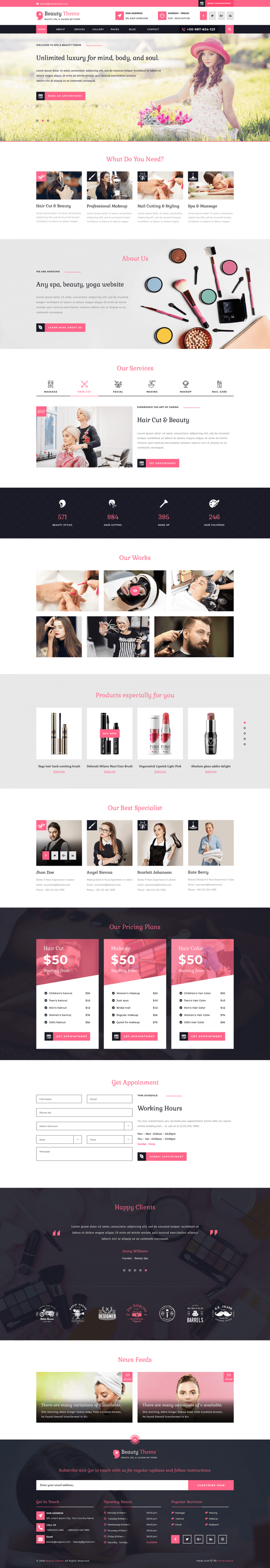 Hair-Salon-WordPress-Theme
