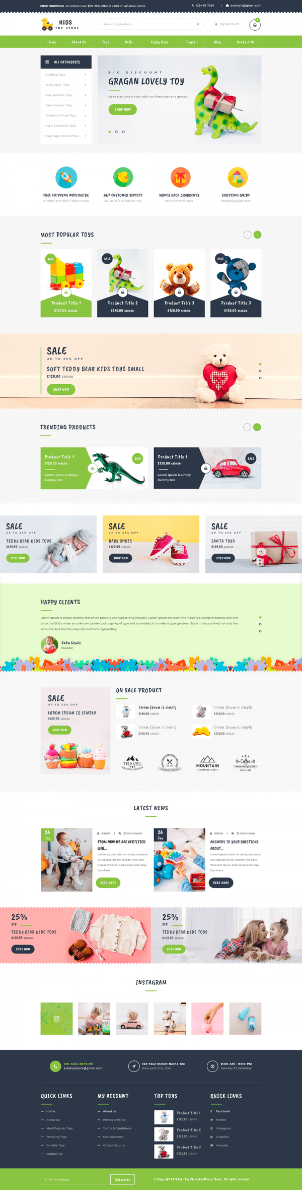 Kids-WordPress-Theme