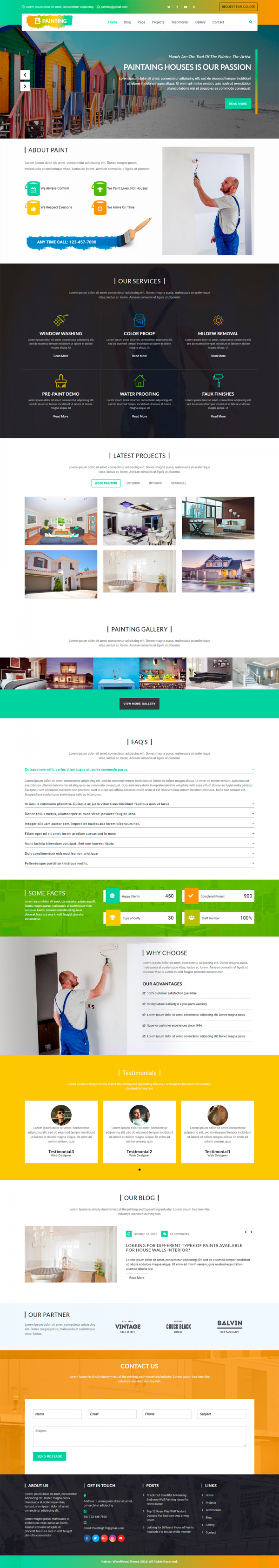 Painter-WordPress-Theme