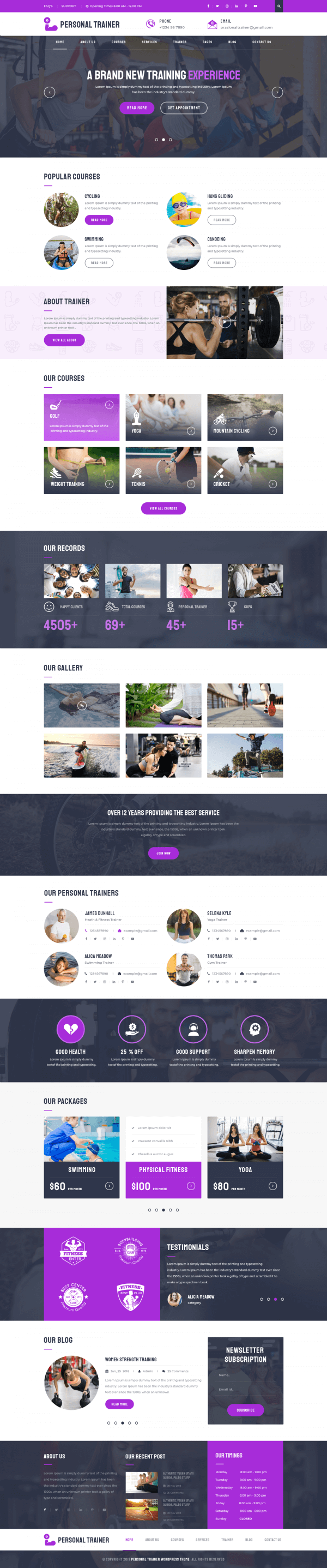 Personal-Trainer-WordPress-Theme