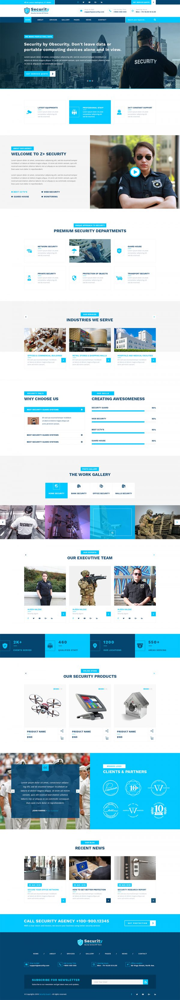 Security-Guard-WordPress-Theme
