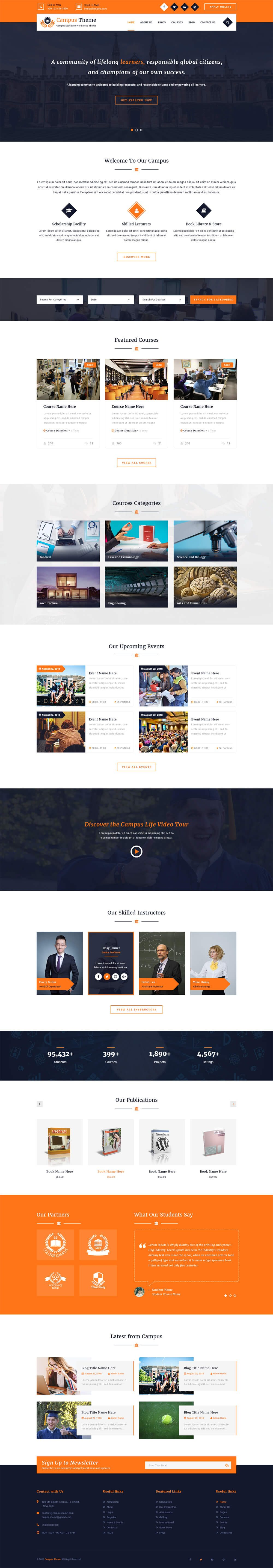 premium-education-wordPress-theme