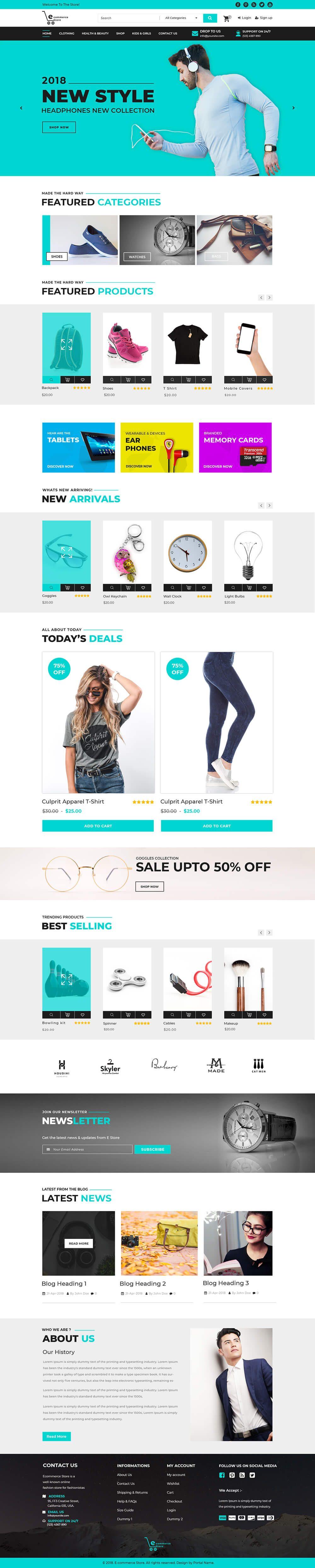 wordpress-ecommerce-theme