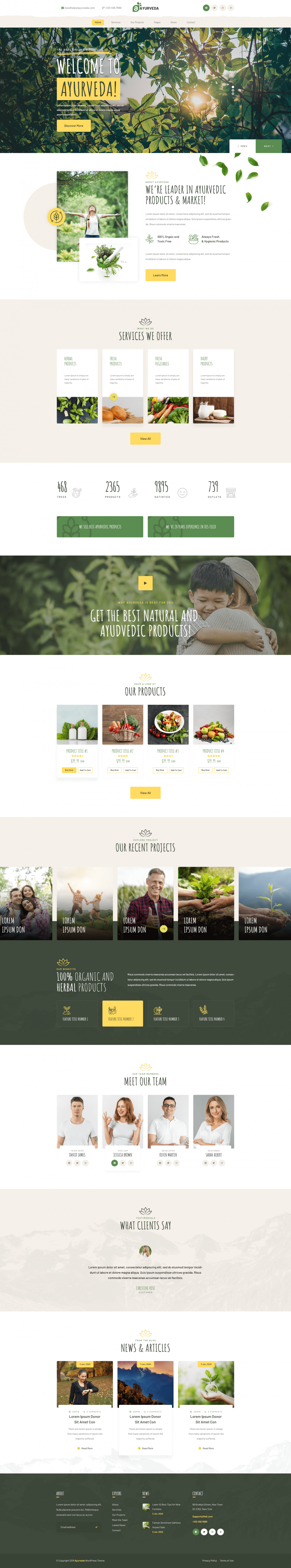 Ayurveda-WordPress-Theme
